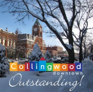 Winter in Downtown Collingwood