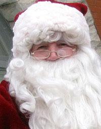 Santa in Collingwood