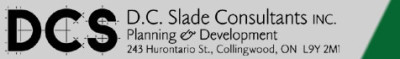 D.C. Slade Consultants Inc. – Planning & Development